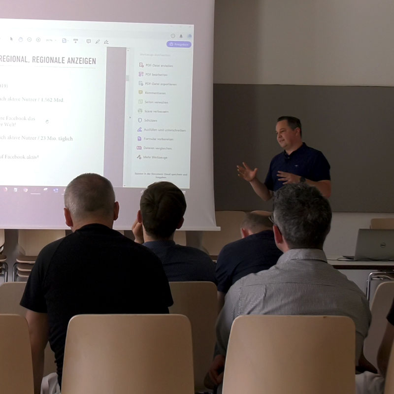 Digitales Marketing Training